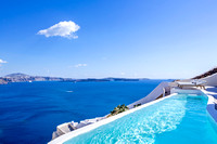 Canaves Oia Villa - infinity pool